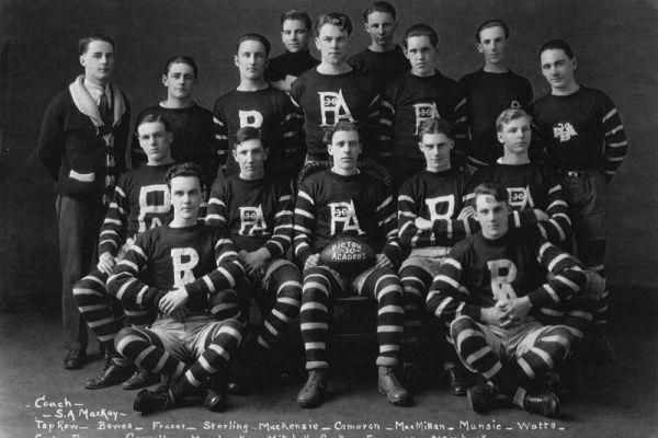 Pictou Academy Football Team 1930
