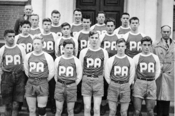 Pictou Academy Rugby Team 1952