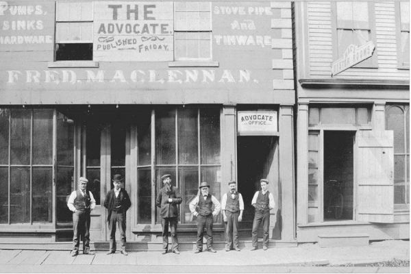 Pictou Advocate staff 1893